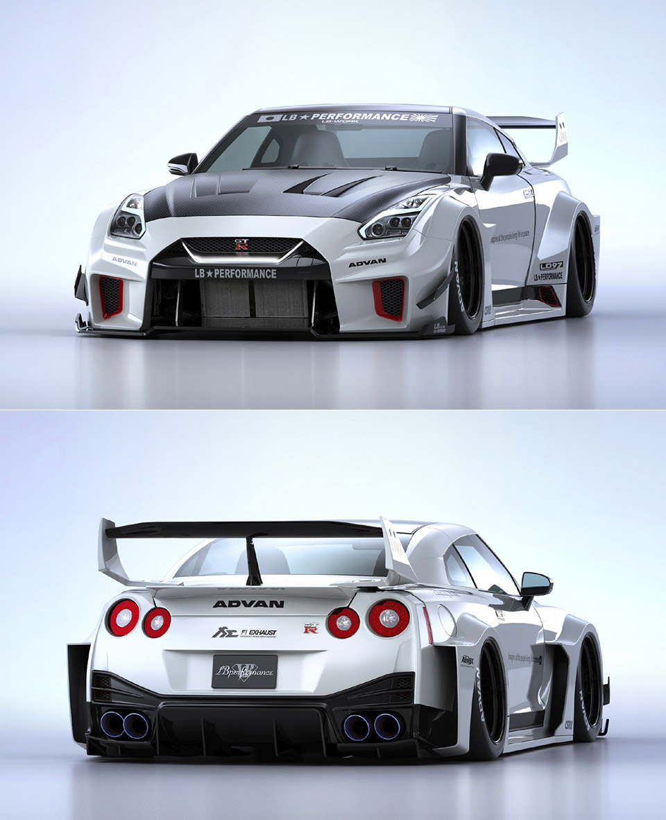 This Liberty Walk Body Kit Costs More Than A Used Nissan Gt R Techeblog