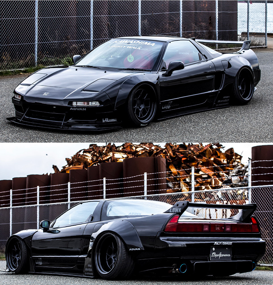 Liberty Walk NSX NA1 Body Kit