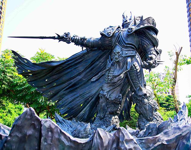 Lich King Statue