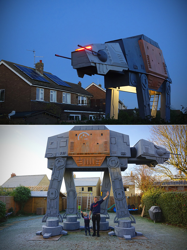 Life-Sized AT-AT Walker