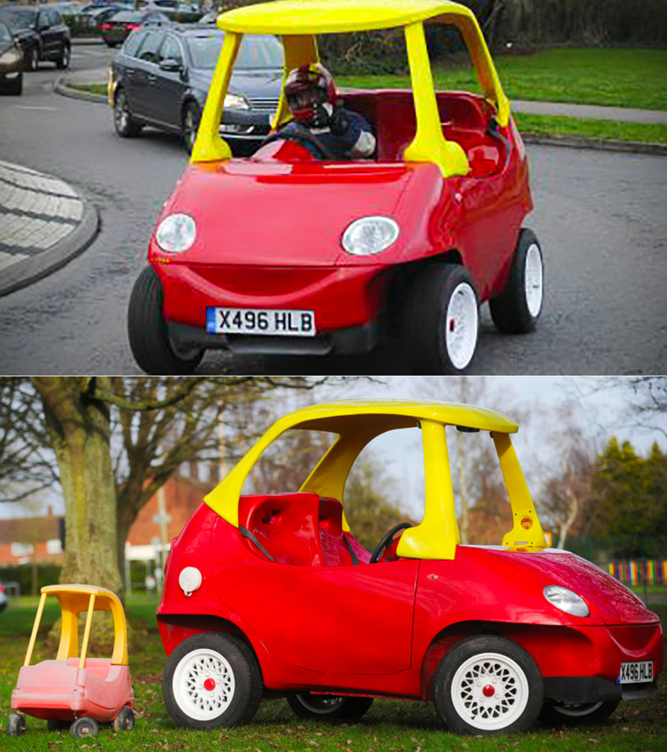 Life-Sized Little Tikes Cozy Coupe