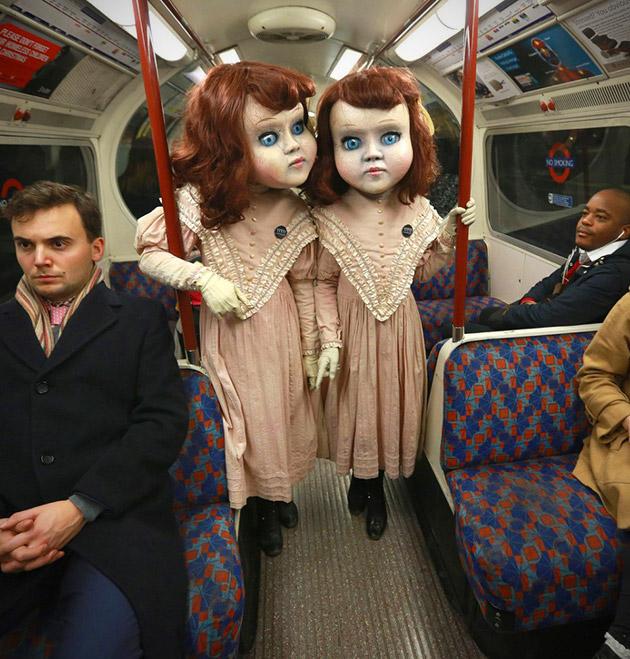 Life-Sized Victorian Dolls