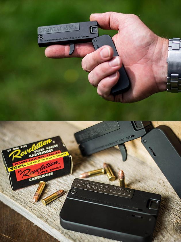 LifeCard Pistol