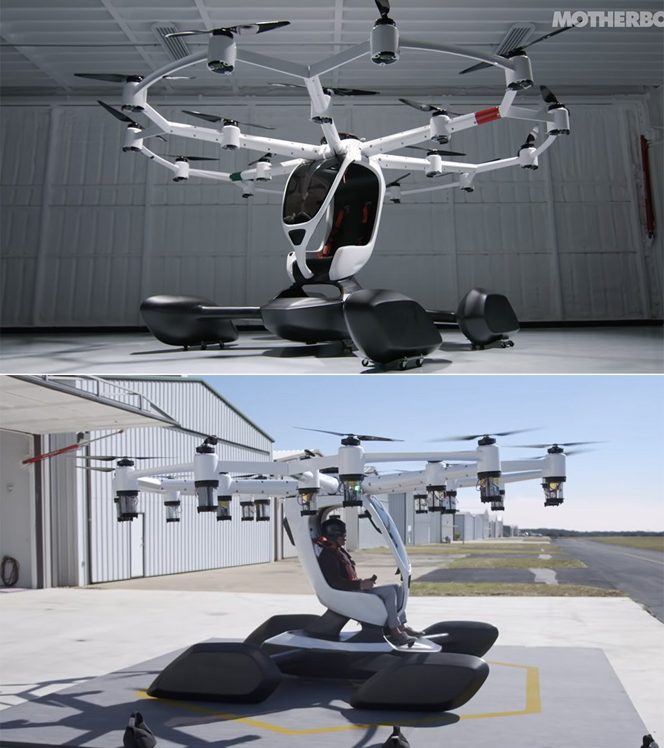LIFT Aircraft Personal Flying Machine