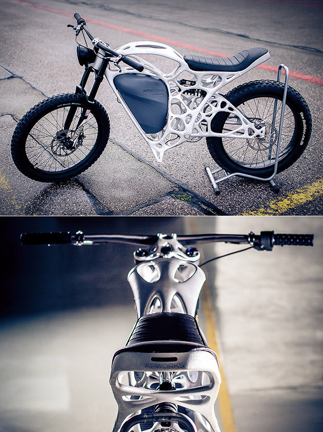 Light Rider 3D-Printed Motorcycle