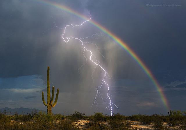 Lightning Bolt Rainbow