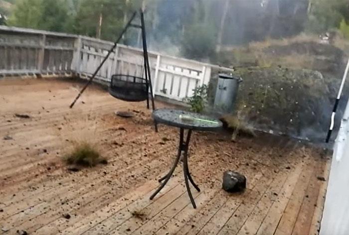 Lightning Storm Home