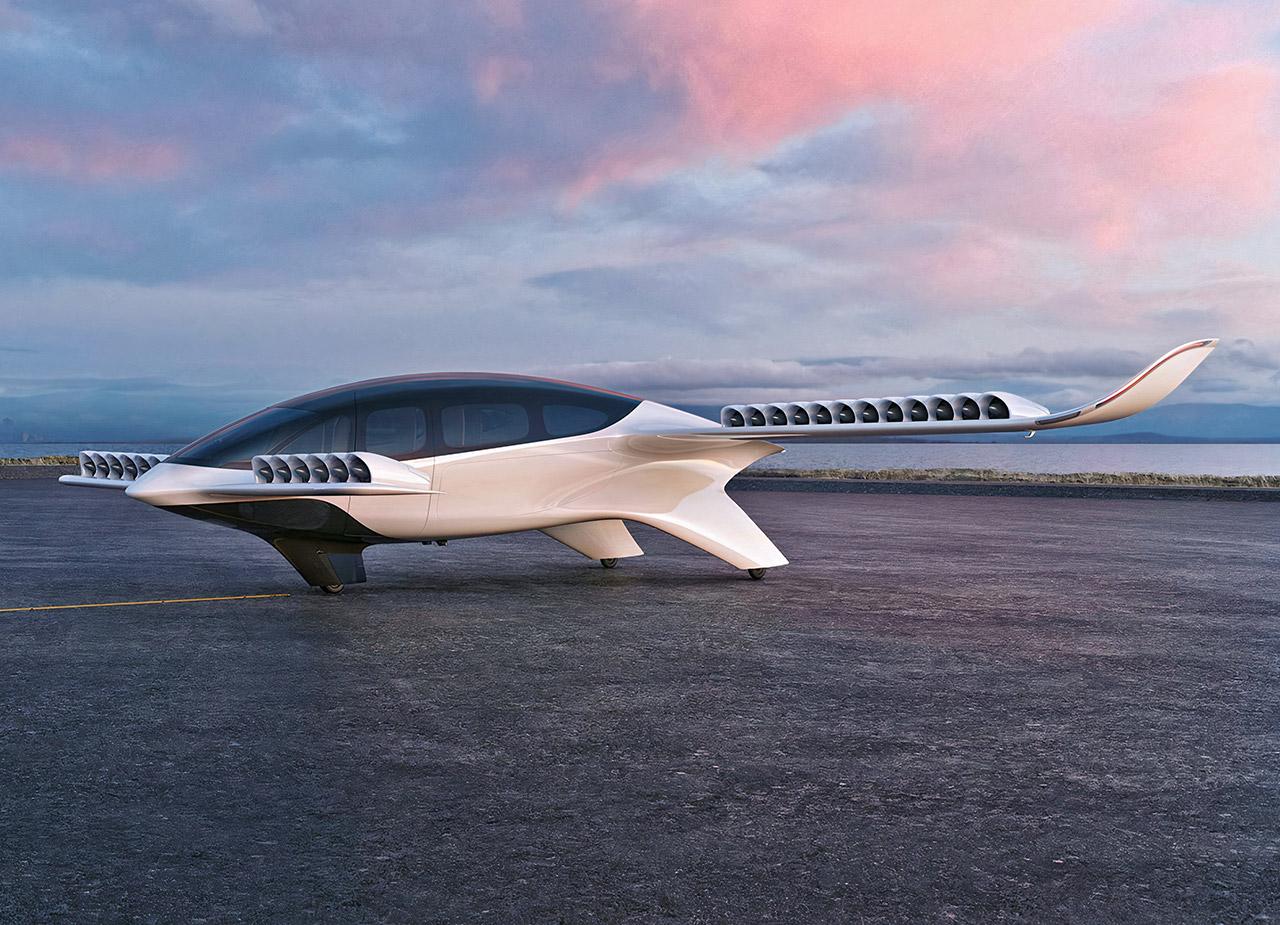 Lilium 7-Seater eVTOL Jet