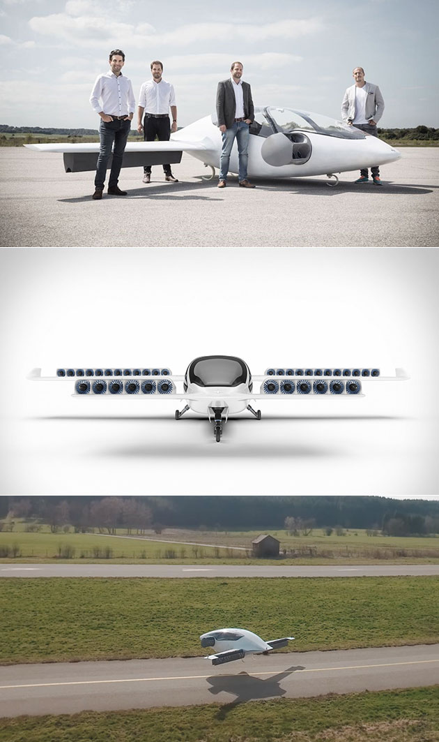 Lilium Electric VTOL Jet