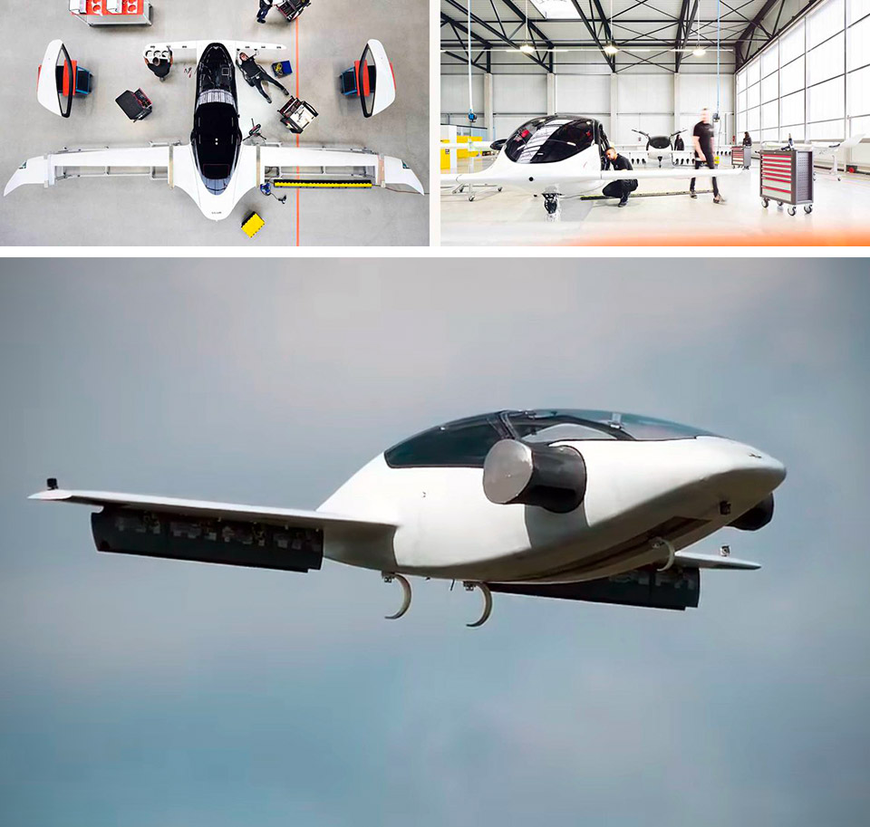 Lilium Jet Test Flight Air Taxi