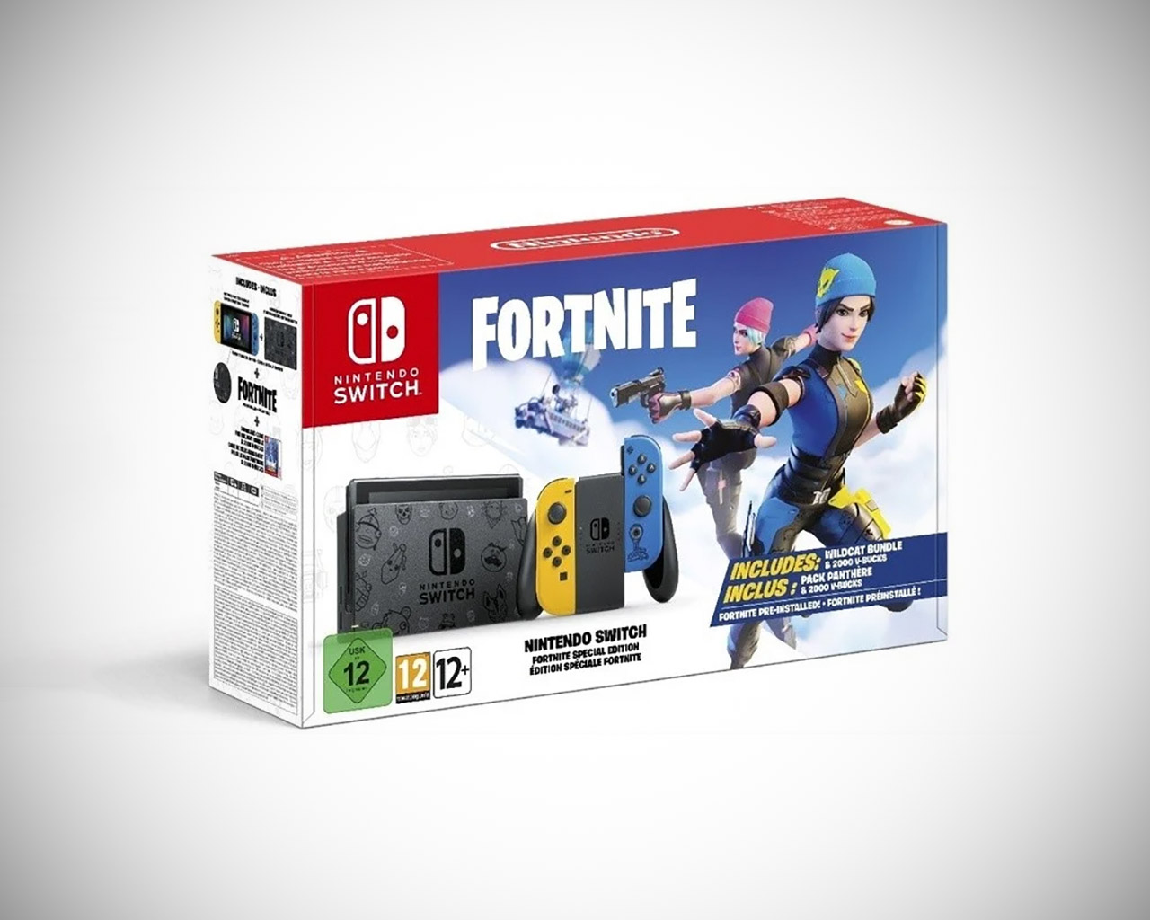 Limited Edition Fortnite Nintendo Switch Bundle Console