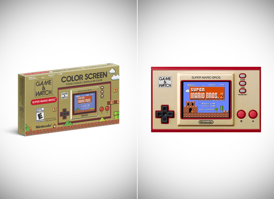Limited Edition Nintendo Game Watch Super Mario Bros