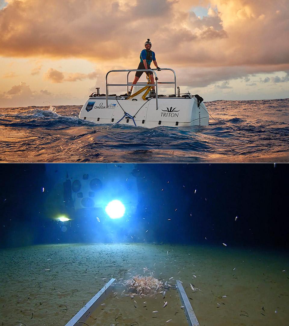 Limiting Factor Submarine Mariana Trench