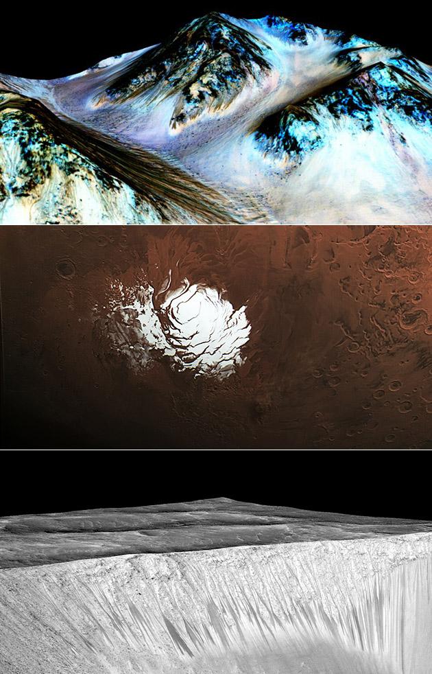 Liquid Water Mars