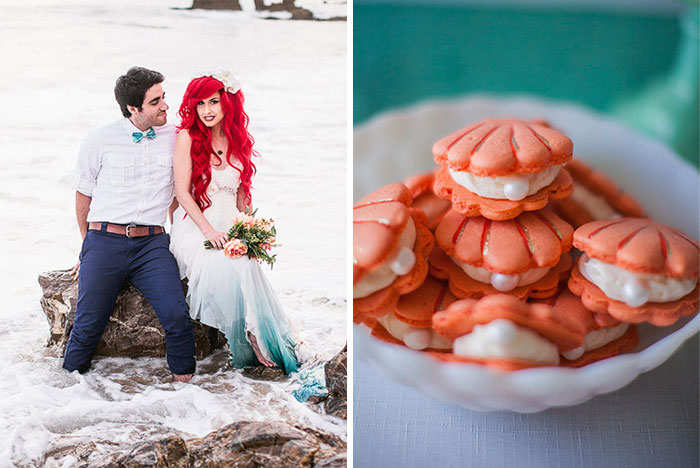 Little Mermaid Wedding