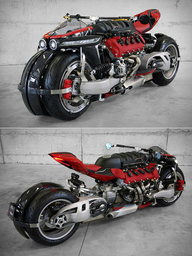 LM847 Quad Motorcycle
