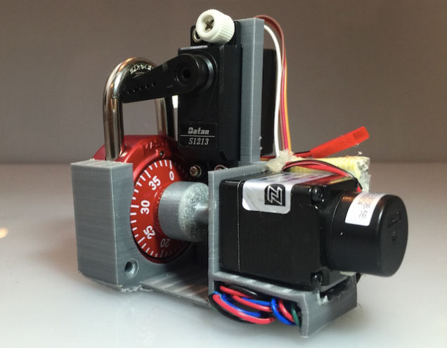 Lock Cracking Machine