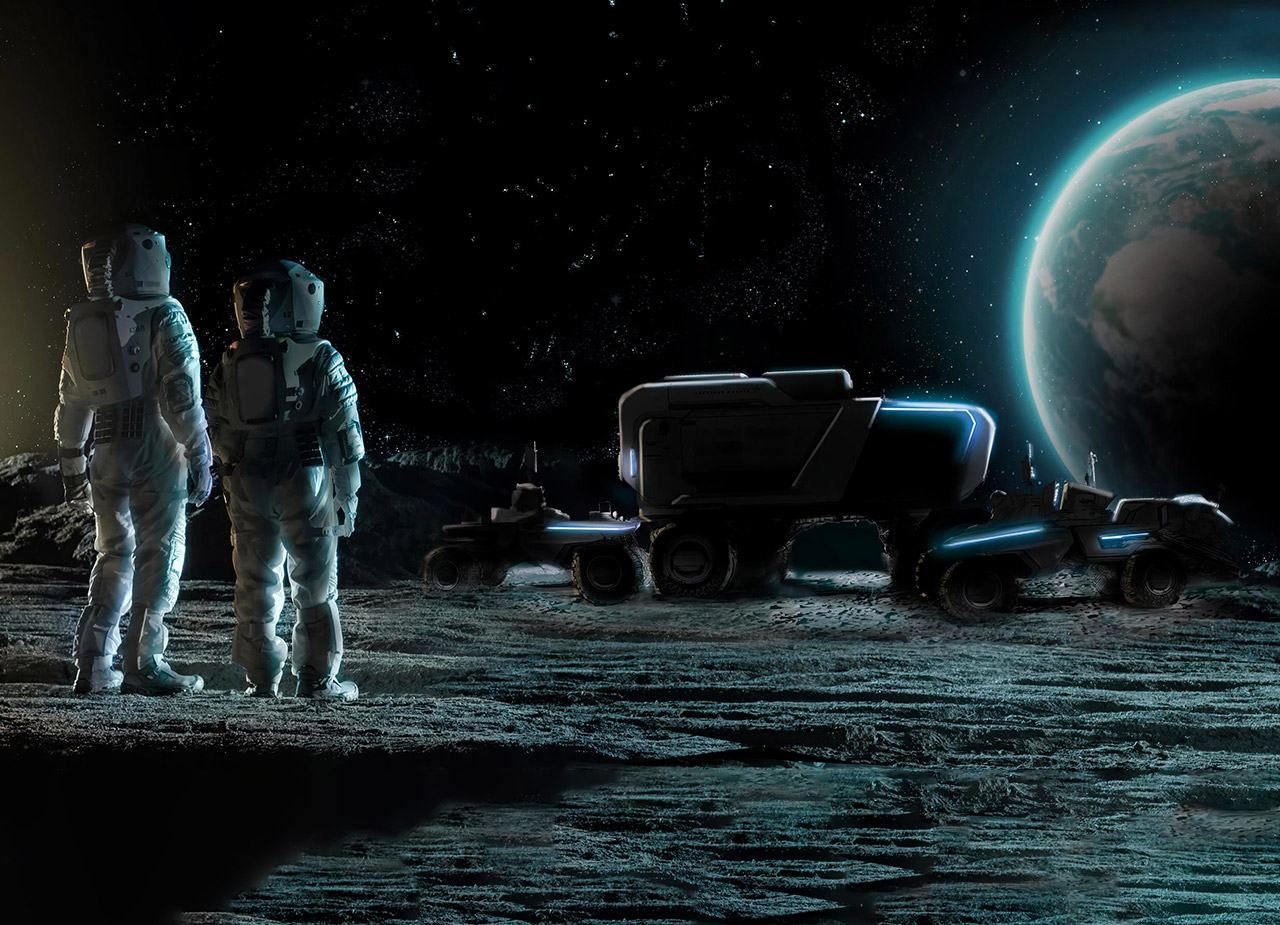 Lockheed Martin GM Lunar Rover NASA Artemis Moon