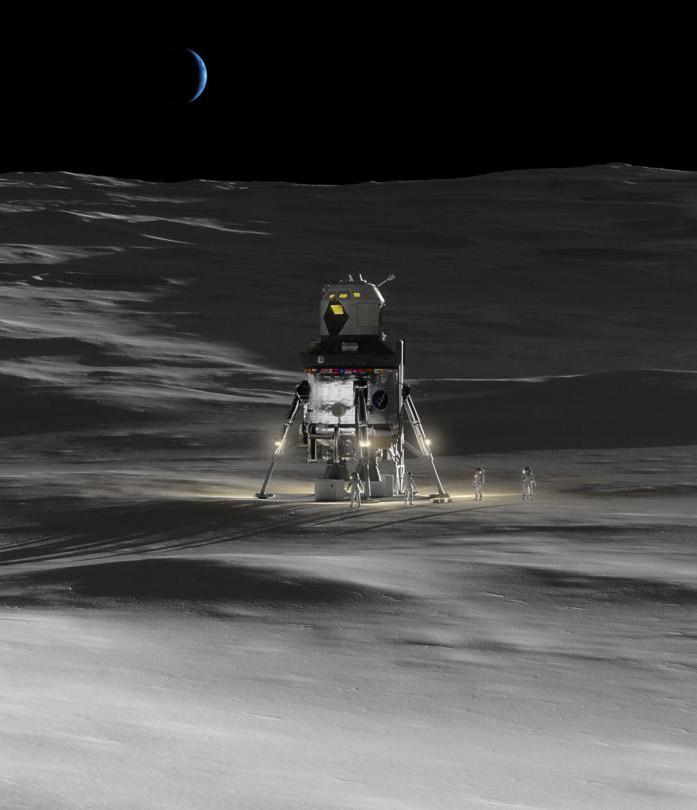 Lockheed Martin Lunar Lander Concept