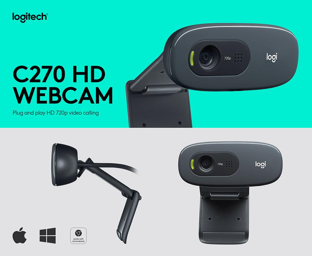 Logitech C270 Webcam Review