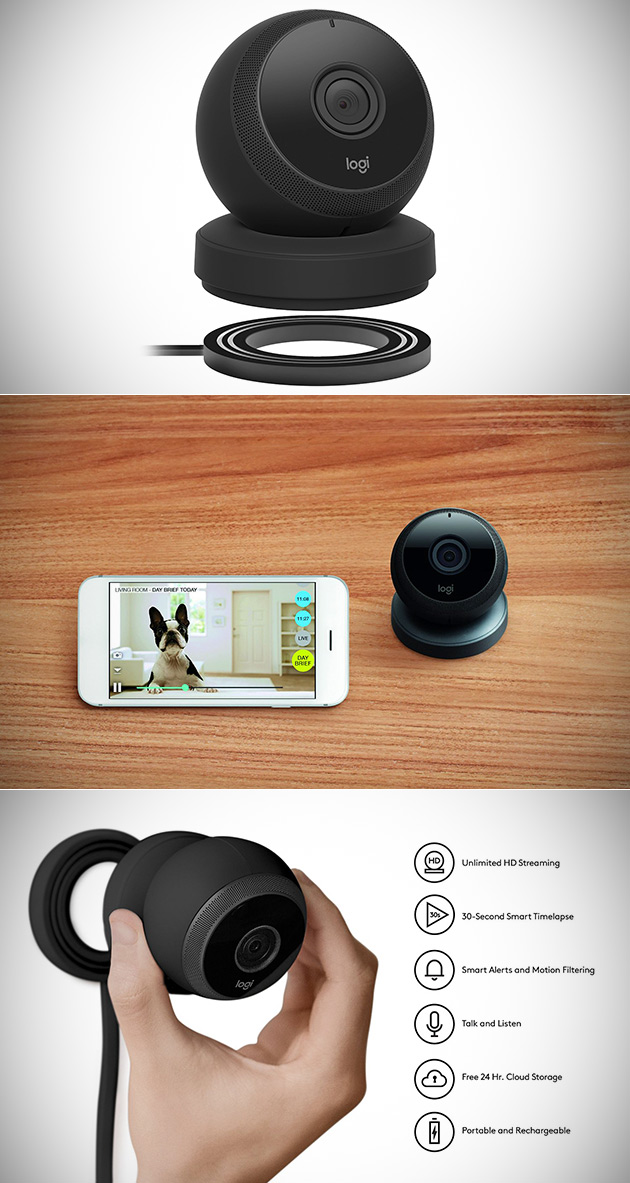 Logitech Cercle sans Fil 1080p Caméra de Sécurité Peut Être configuré dans les 60 Secondes, Obtenez-en Un de 129,99 $Livré