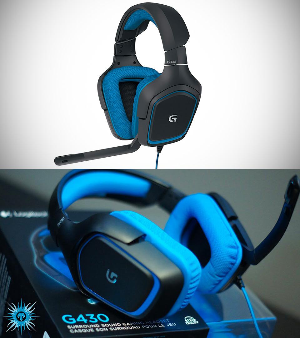 Logitech G430 Gaming Headset