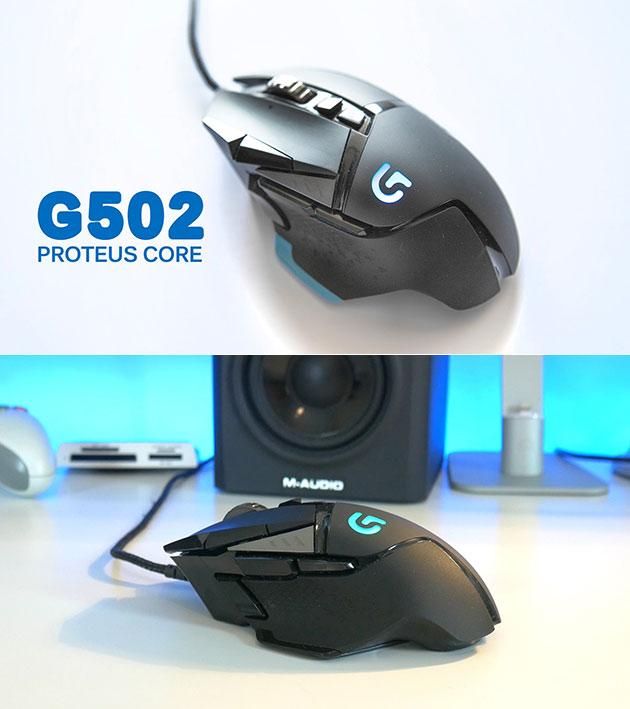 Logitech G502 Proteus