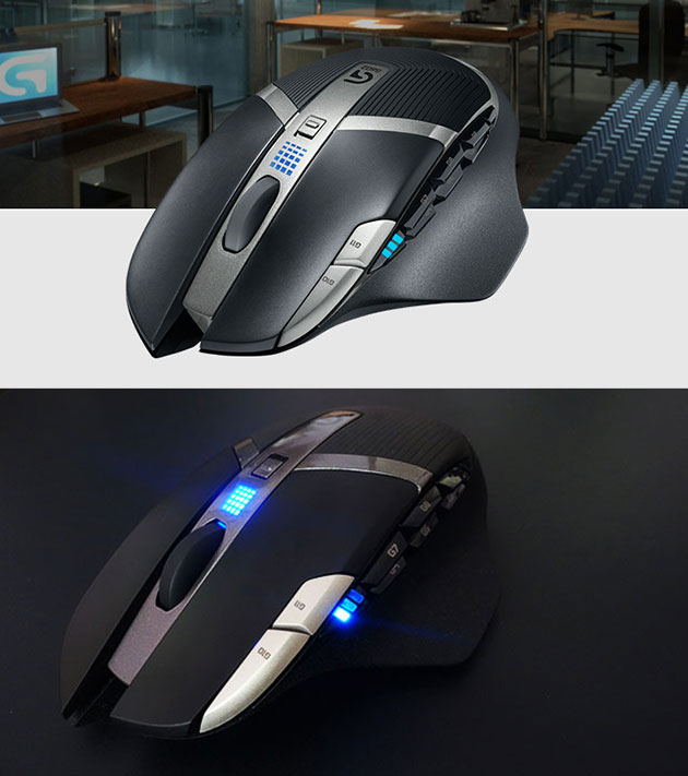 5f746af01e0 Logitech's G602 Wireless Gaming Mouse Has 250-Hour Battery Life, Can ...