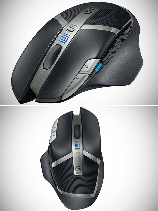 Logitech G602 Wireless Gaming Mouse w/250 Hour Battery Life