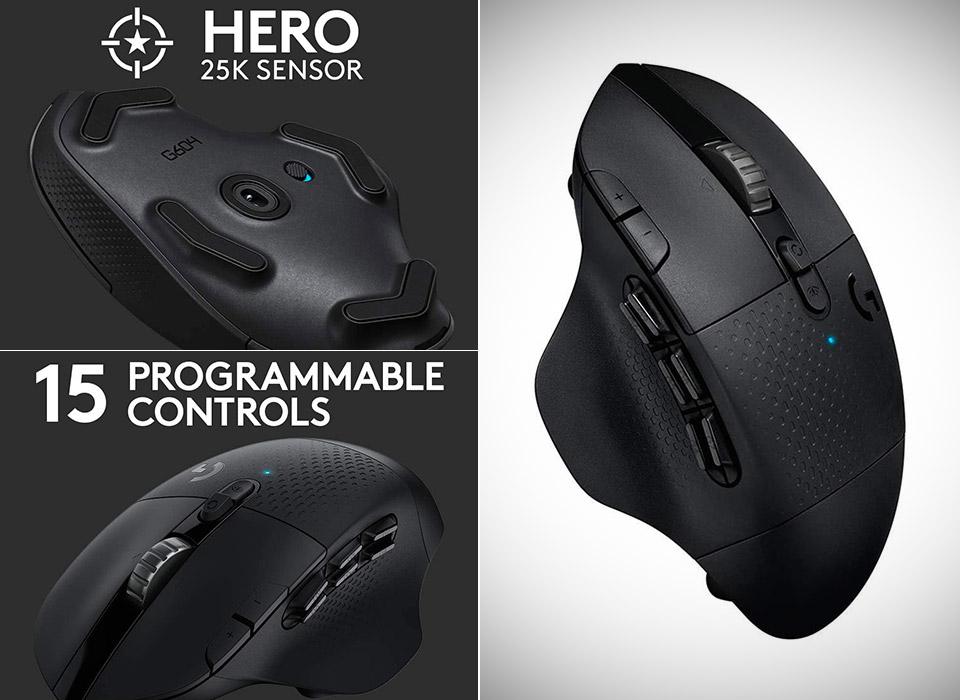 Logitech G604 Lightspeed Gaming Mouse