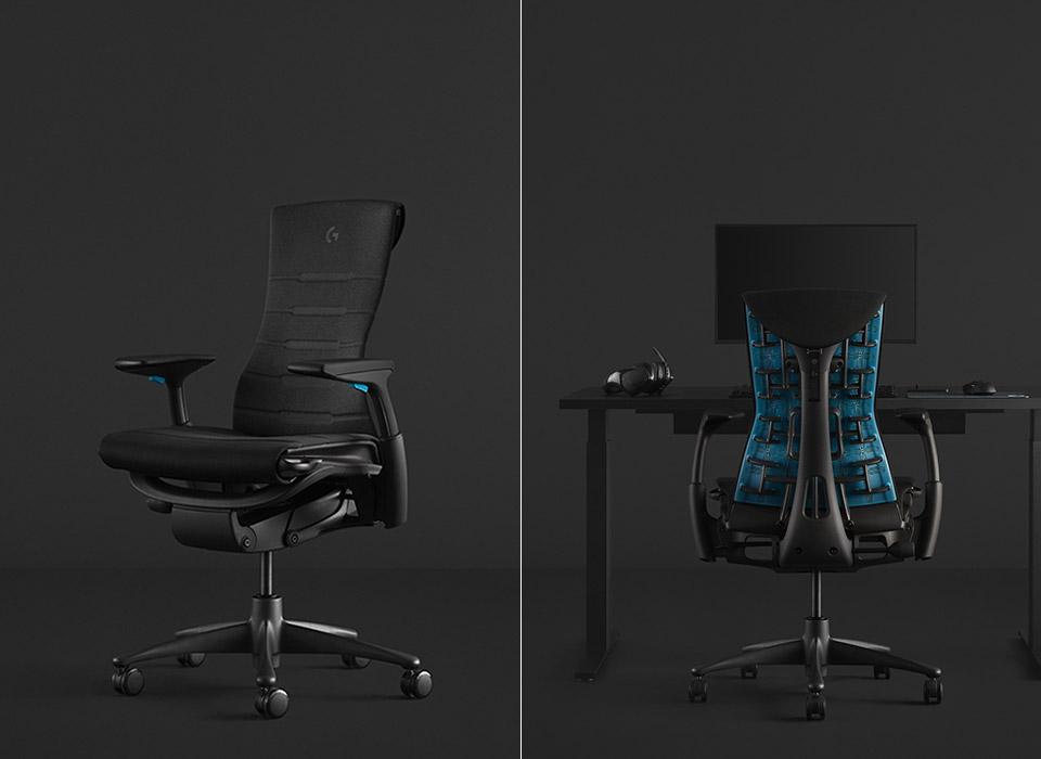 Logitech Herman Miller Embody Gaming Chair