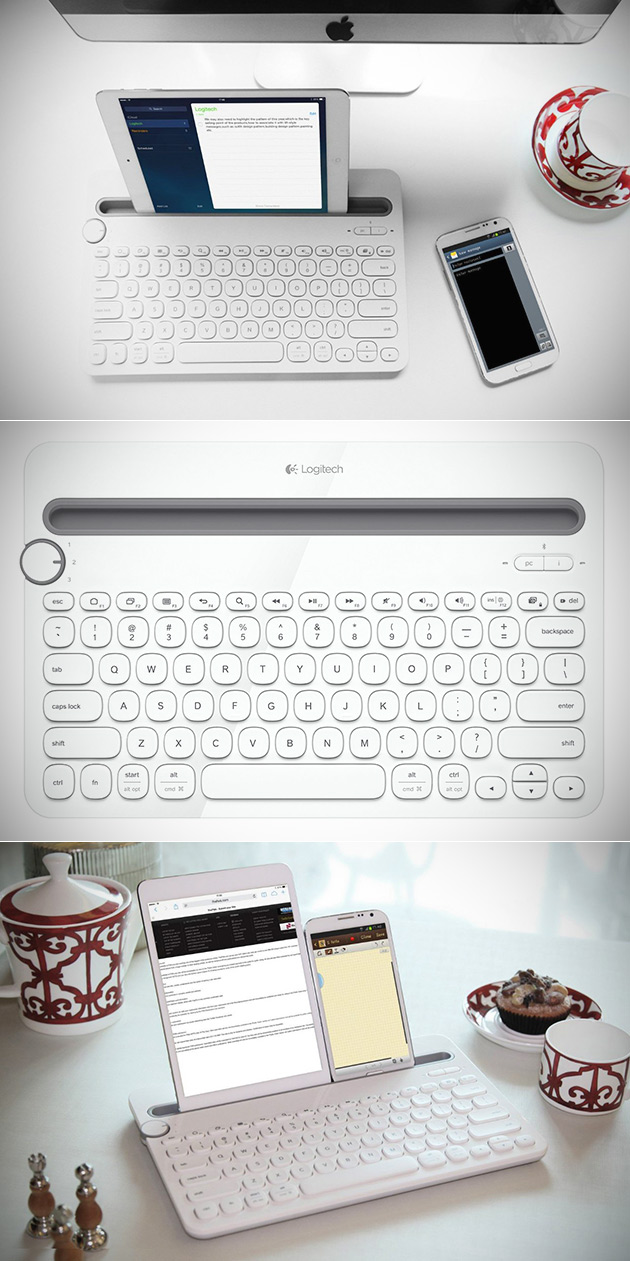 logitech bluetooth keyboard k480 manual