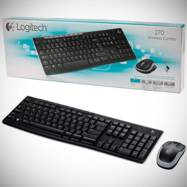 Logitech MK270 Wireless Keyboard Mouse