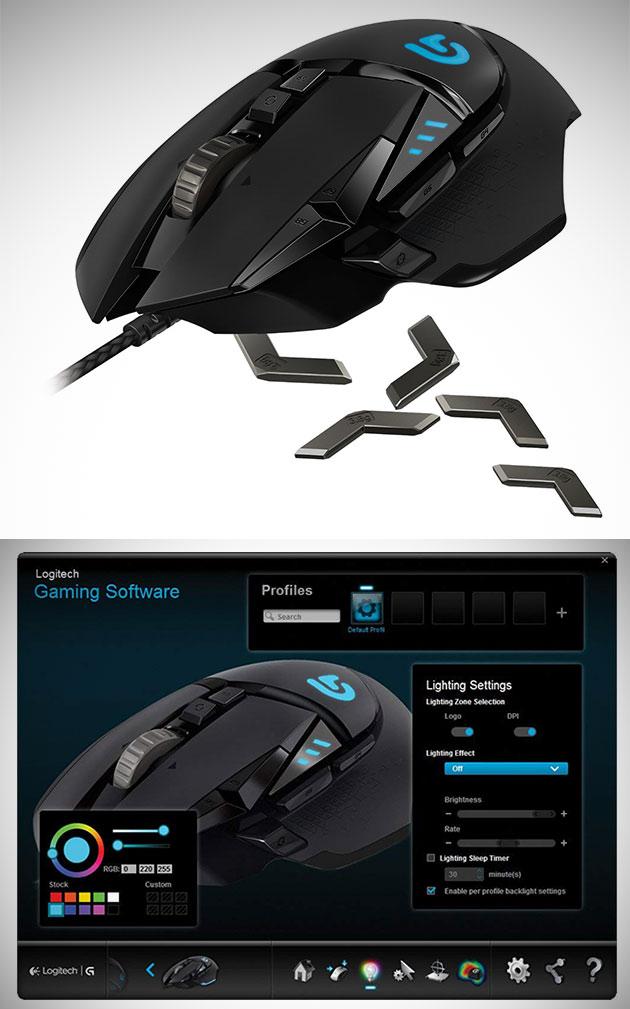 Nicht Zahlen $85, Get Logitech G502 Proteus-Spektrum-RGB-Tunable Gaming Mouse für $38.75 Versand - Nur Heute