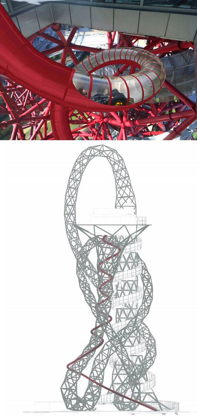 ArcelorMittal Orbit Tower Slide