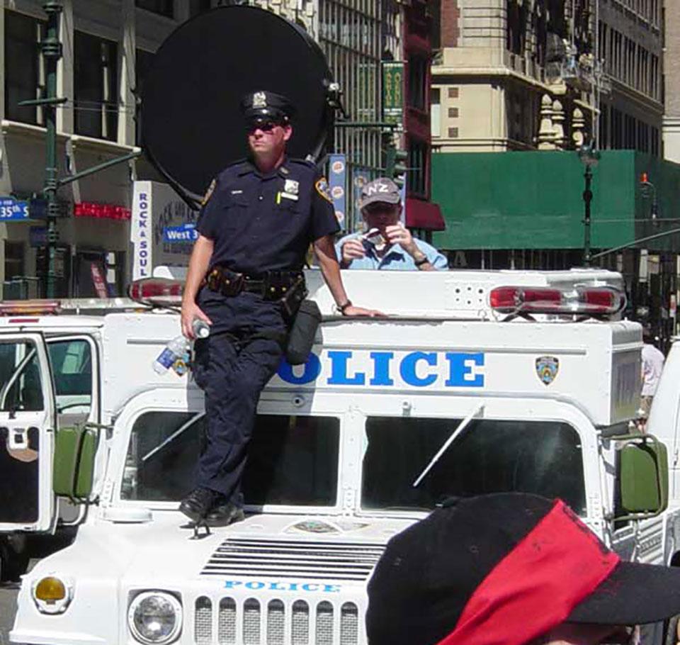 Long Range Acoustic Device Police