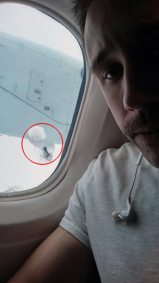 Bolt Airplane Window