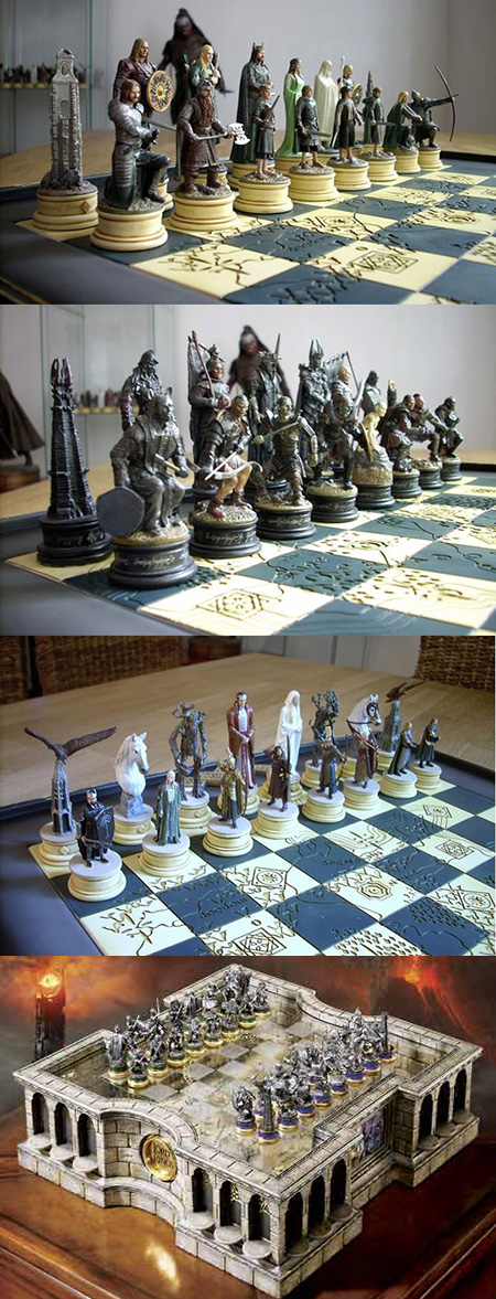 Lord Of The Rings Chess Set Might Be Geekiest Ever Techeblog