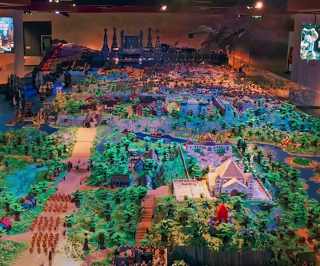 Lord of the Rings Largest LEGO Mini Brick Build