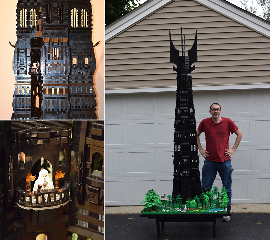 8-Foot-Tall Lord of the Rings