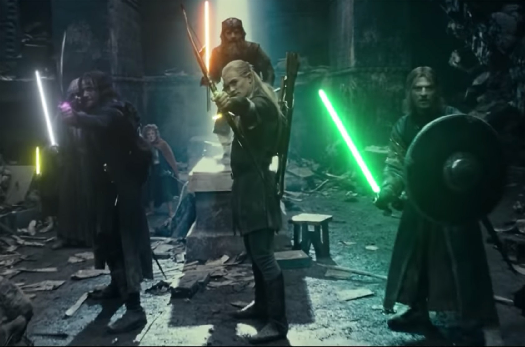 Lord of the Rings Lightsabers