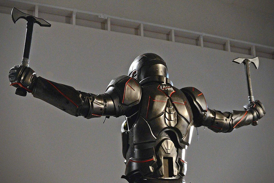 Lorica Carbon Fiber Suit