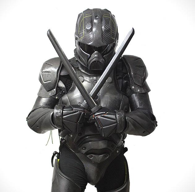 Lorica MKII Carbon Fiber Body Armor