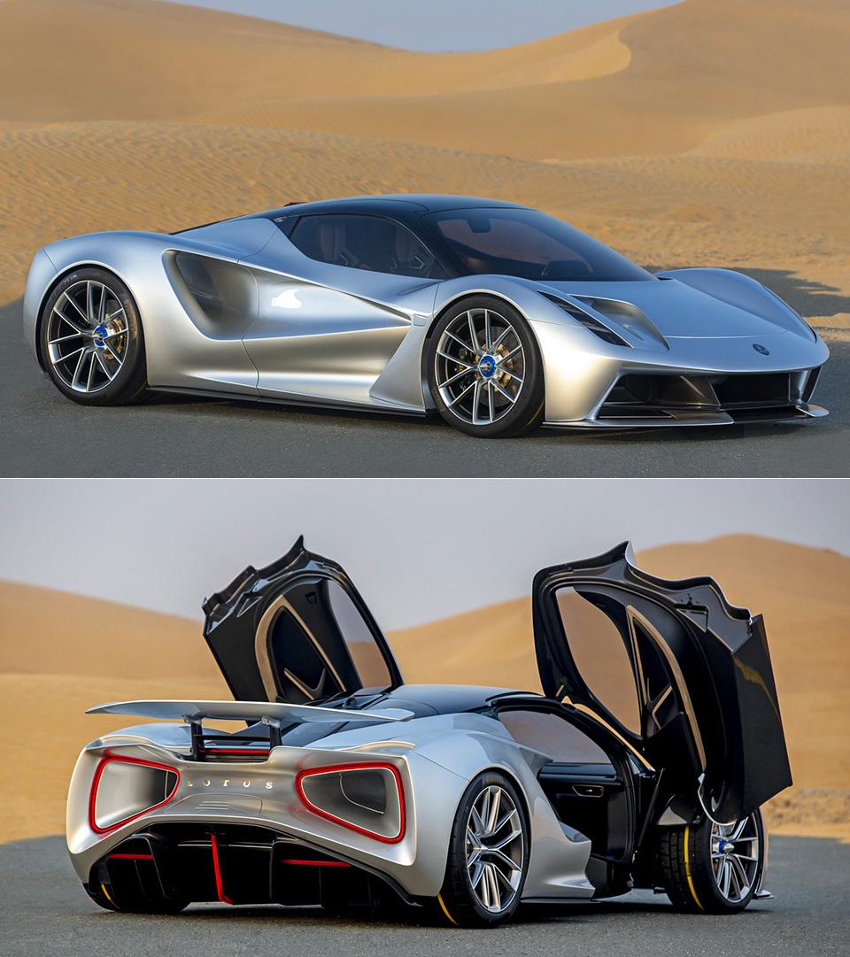 Lotus Evija UAE