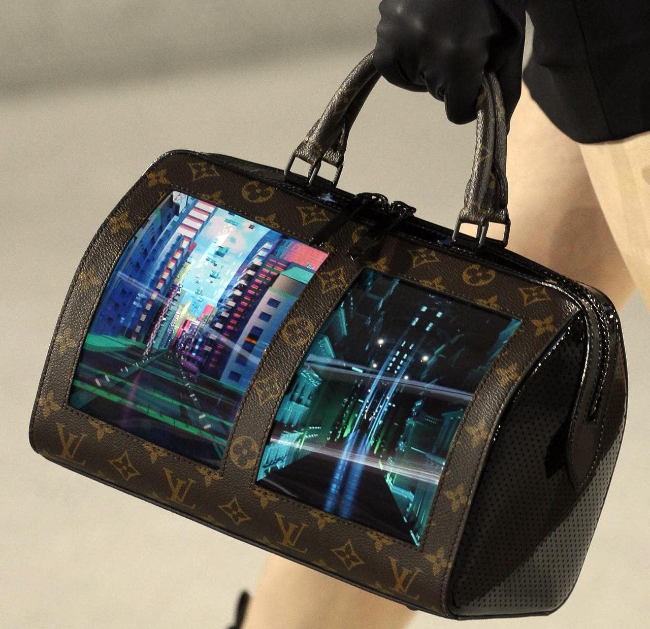 Louis Vuitton Bag Flexible AMOLED Display