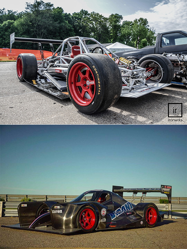 When Go-Kart Meets Hypercar, You Get the V8 Turbocharged LoveFab ...