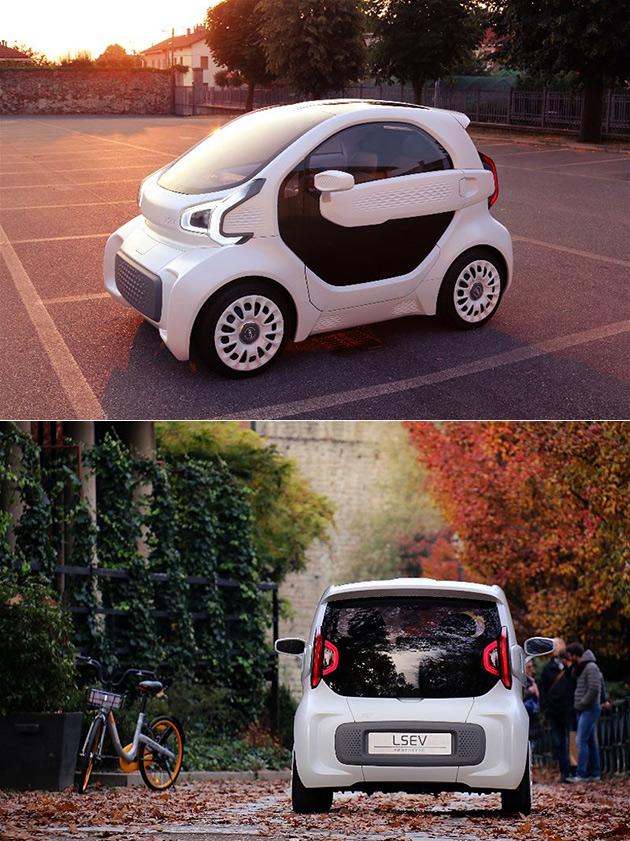 LSEV 3D-Printed Car