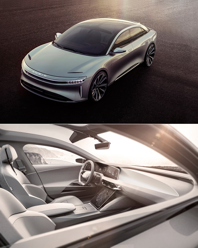 Lucid Motors Investment