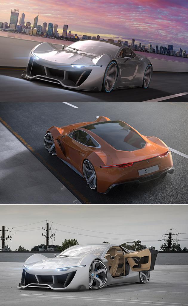Lumen Electric Supercar