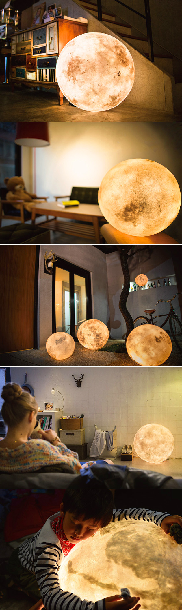 Luna Moon Lamp
